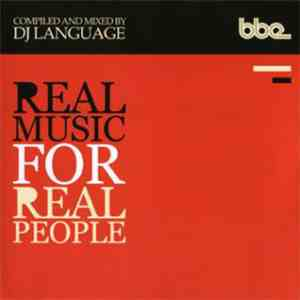 DJ Language - Real Music For Real People flac album
