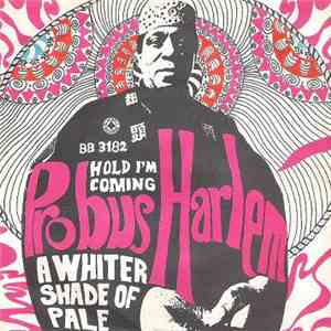 Probus Harlem - A Whiter Shade Of Pale / Hold I'm Coming flac album
