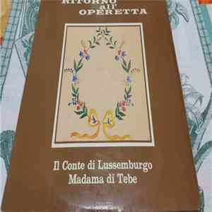 Cesare Gallino - Ritorno All'Operetta flac album