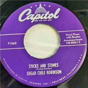 Sugar Chile Robinson - Sticks and Stones / The Bases Were Loaded flac album