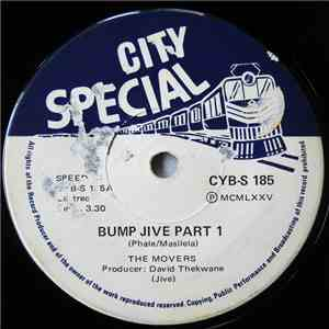 The Movers  - Bump Jive Part 1 & 2 flac album