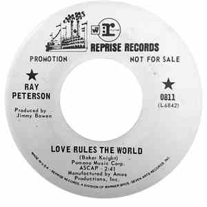 Ray Peterson - Love Rules The World / Together flac album