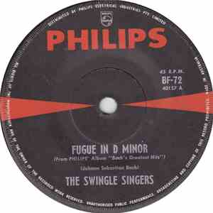 The Swingle Singers - Fugue In D Minor / Prelude In F Major flac album