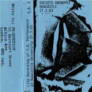 Societe Anonomie - Live At New Castle University flac album