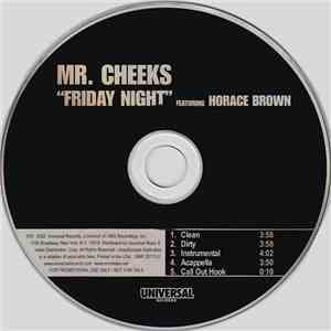 Mr. Cheeks Featuring Horace Brown - Friday Night flac album