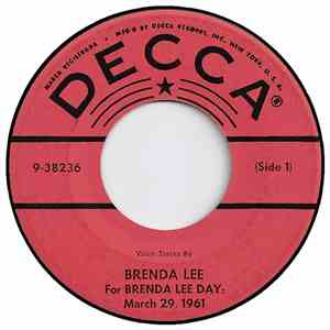 Brenda Lee - For Brenda Lee Day: March 29, 1961 flac album
